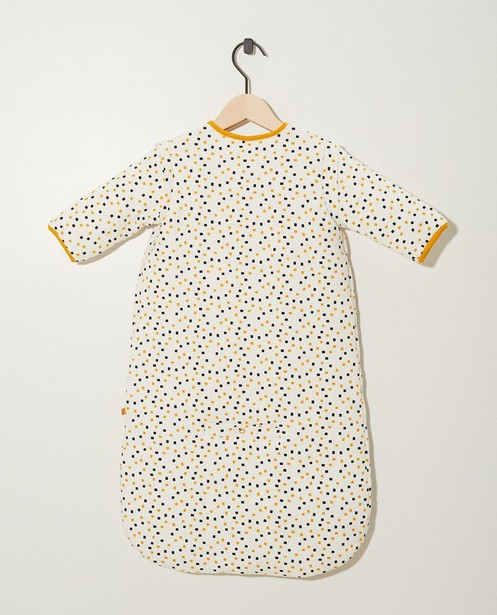 Accessoires pour bébés - geel oker - Sac de couchage blanc en coton bio