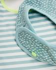 Babyspulletjes - Set van 2 slabbetjes in biokatoen