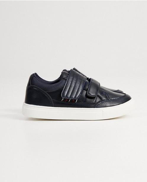 Chaussures bleues - avec du velcro - fish