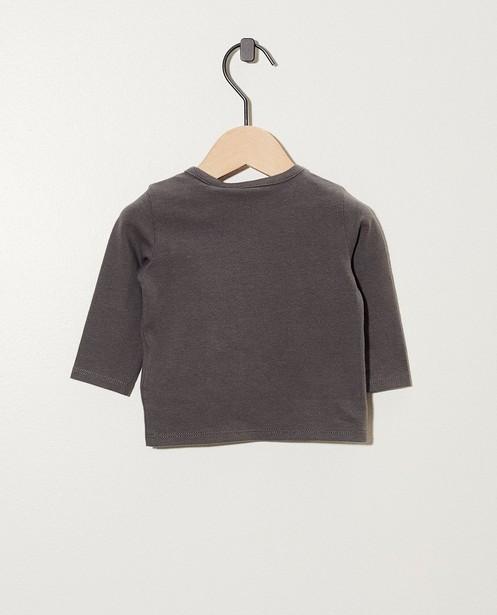 T-shirts - dark grey -