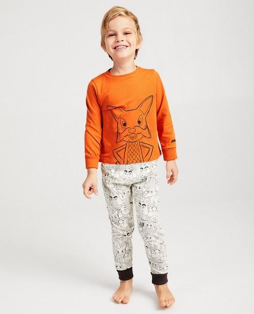 Pyjamas - terracotta - Pyjama évolutif De Fabeltjeskrant