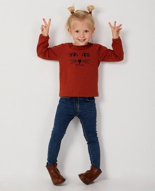 T-shirt rouille  - petites oreilles - Milla Star
