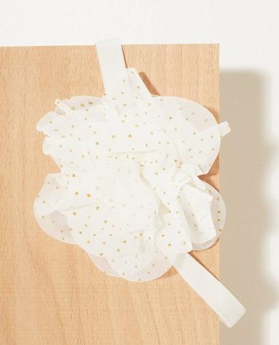 Weißes Haarband Festkollektion
