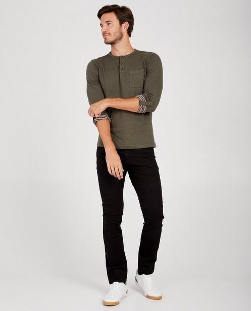 T-shirt à manches longues I AM - coton bio, #agreenjourney - I AM