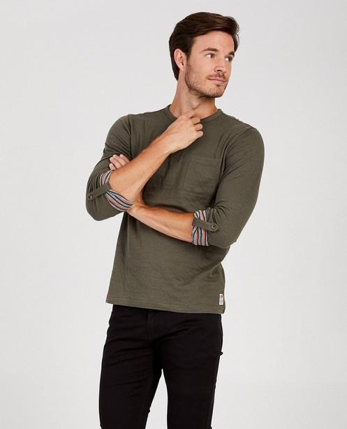 T-shirts - Longsleeve van biokatoen I AM