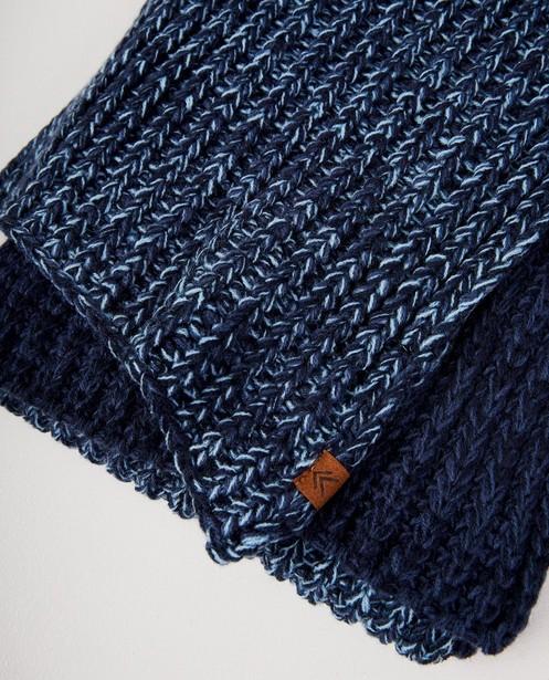 Breigoed - BLM - Blauwe sjaal