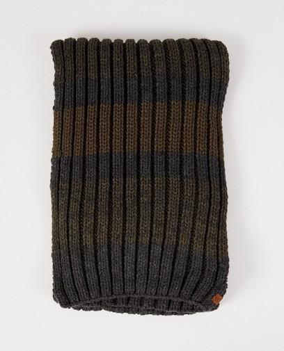 Grijs-groene sjaal