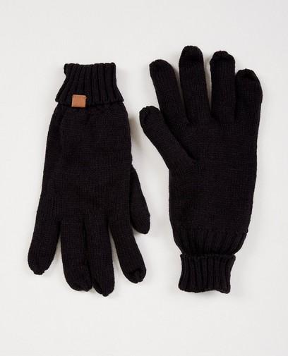 Marineblauwe handschoenen