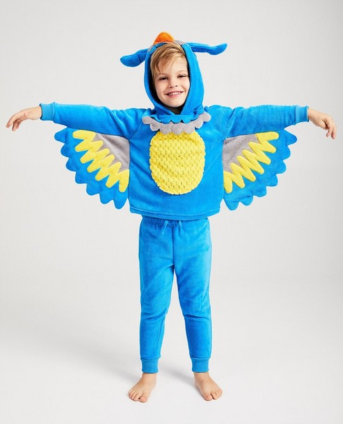 Pyjama bleu De Fabeltjeskrant - Meneer de Uil - Fabeltjeskrant