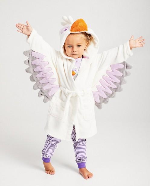 Peignoir blanc De Fabeltjeskrant - avec des ailes - fabe