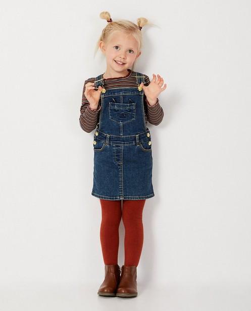 Robe-salopette en jeans - bleue - Milla Star
