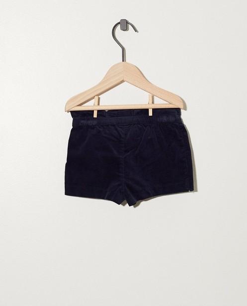 Shorts - Short bleu foncé