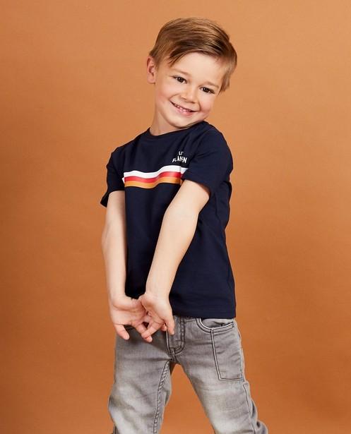 T-shirts - navy - T-shirt bleu marine Baptiste