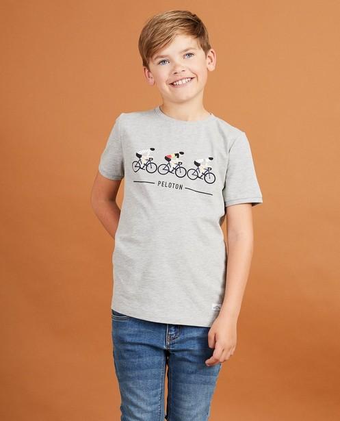 T-shirts - GSM - Grijs T-shirt Baptiste, 7-14 jaar