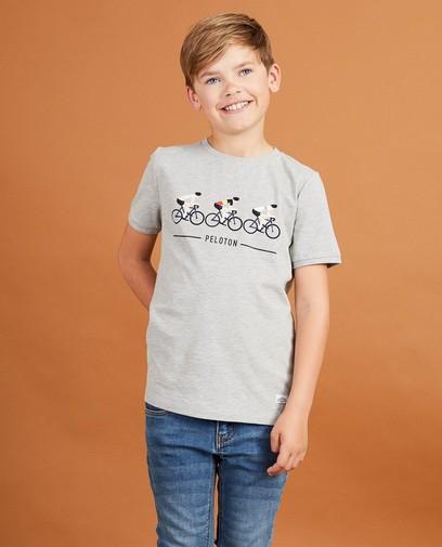 T-shirt gris Baptiste, 7-14 ans
