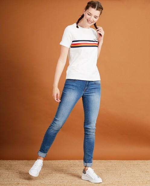 Wit T-shirt met print Baptiste - Flandrienne - JBC