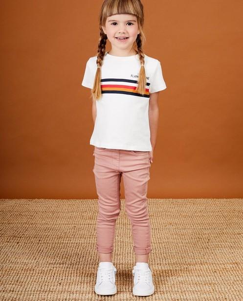 T-shirt blanc Baptiste, 2-7 ans - imprimé - JBC