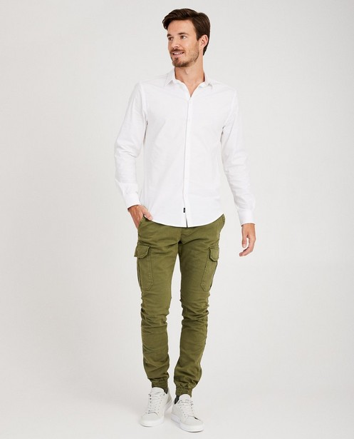 Pantalon vert en coton bio I AM - #agreenjourney - I AM