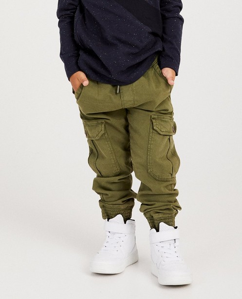Pantalons - dark green -