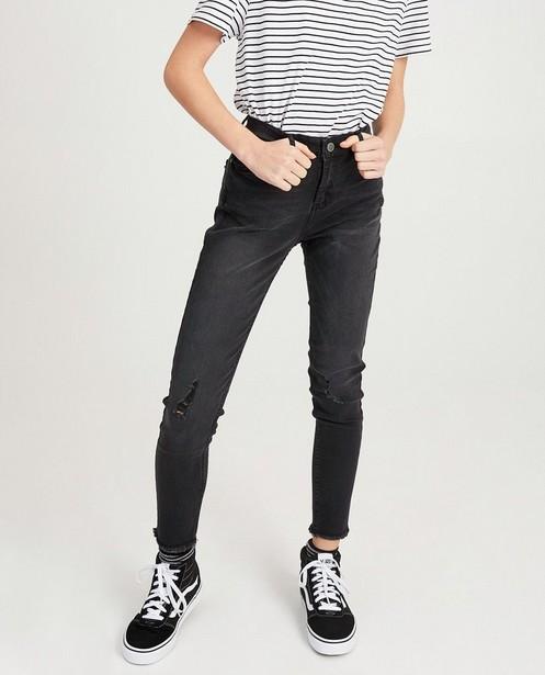 Jeans - Dunkelgrau -