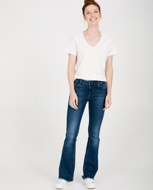 Blauwe bootcut jeans - mid rise - JBC