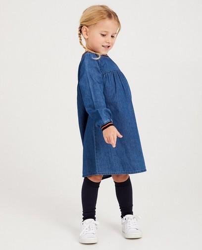 Blaues Kleid aus Denim Kaatje