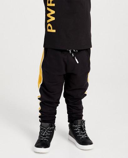 Pantalon molletonné noir Rox