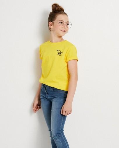 T-shirt jaune #LikeMe