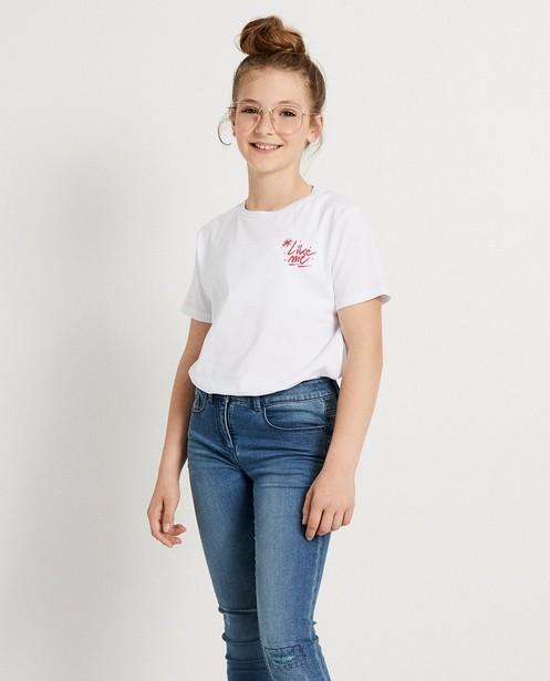 T-shirts - white - T-shirt blanc #LikeMe