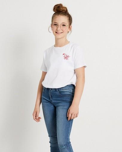 T-shirt blanc #LikeMe