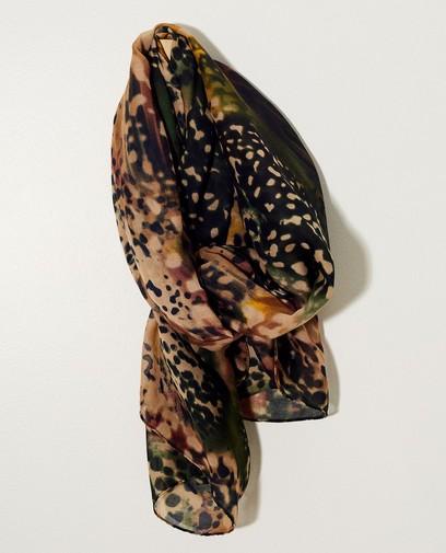 Sjaal met print Pieces