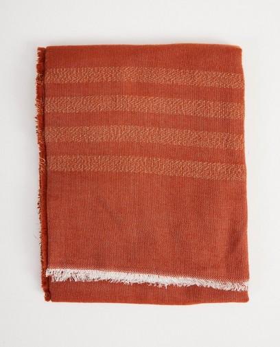 Roestkleurige sjaal Pieces