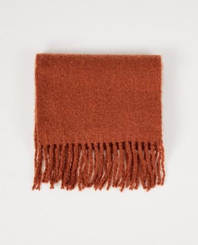 Roestbruine sjaal Pieces