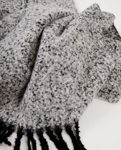 Écharpe noire et blanche Pieces