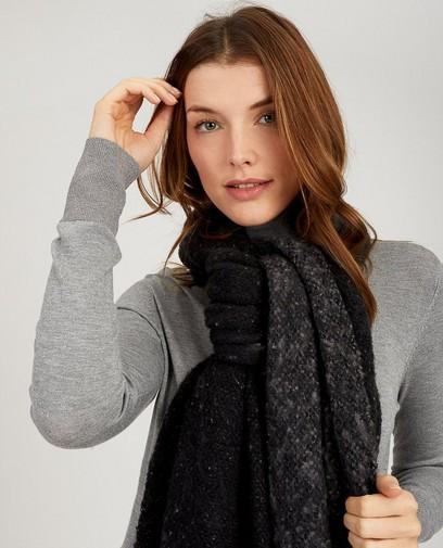 Zwarte sjaal Pieces