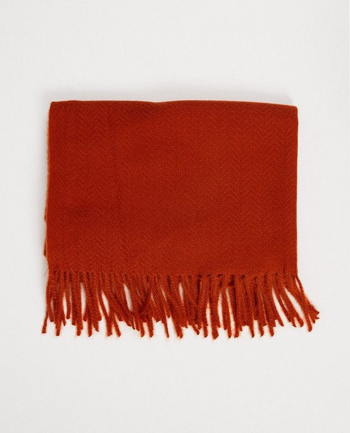Breigoed - Roestbruine sjaal Pieces