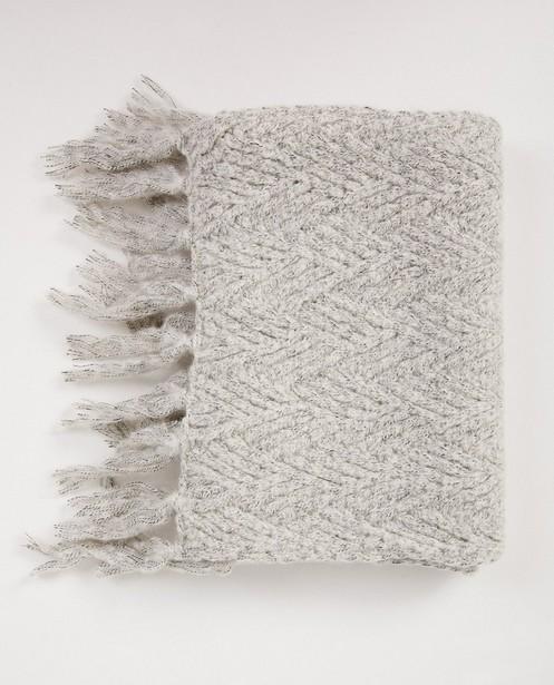 Breigoed - Lichtgrijze sjaal Pieces