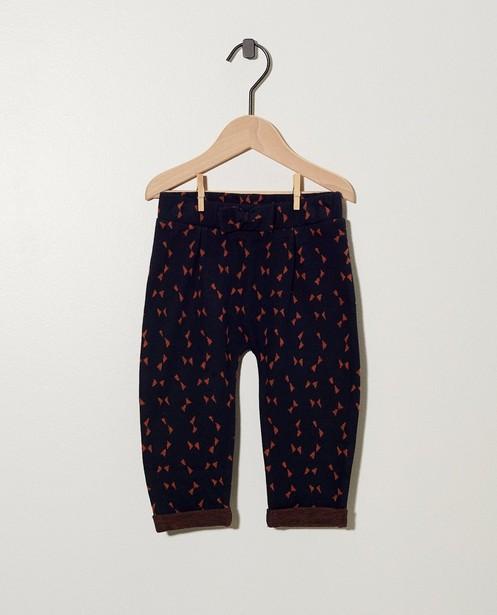Pantalon gris, imprimé BESTies - signes - - Besties