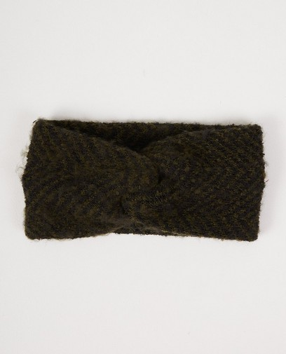 Groen-zwarte hoofdband Pieces