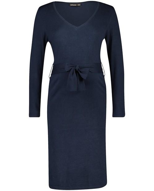 Robe bleu foncé JoliRonde - fin tricot - Joli Ronde