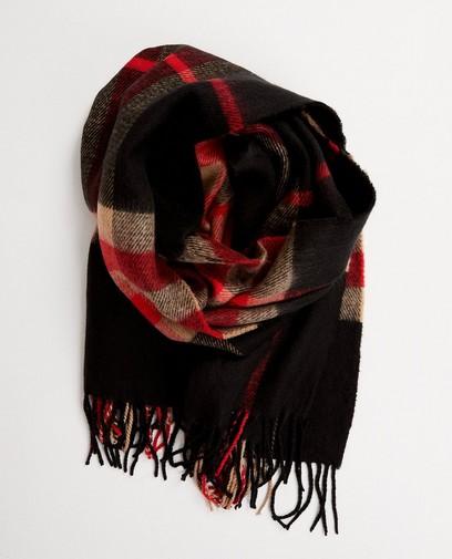 Rood-blauwe sjaal Pieces