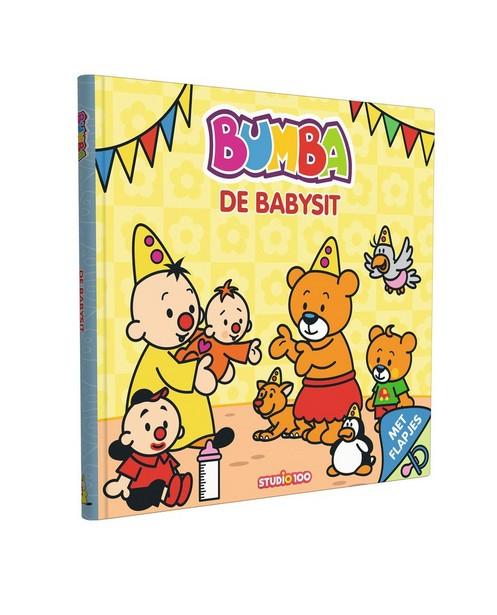 Bumba boekje: De babysit - met flapjes - Bumba