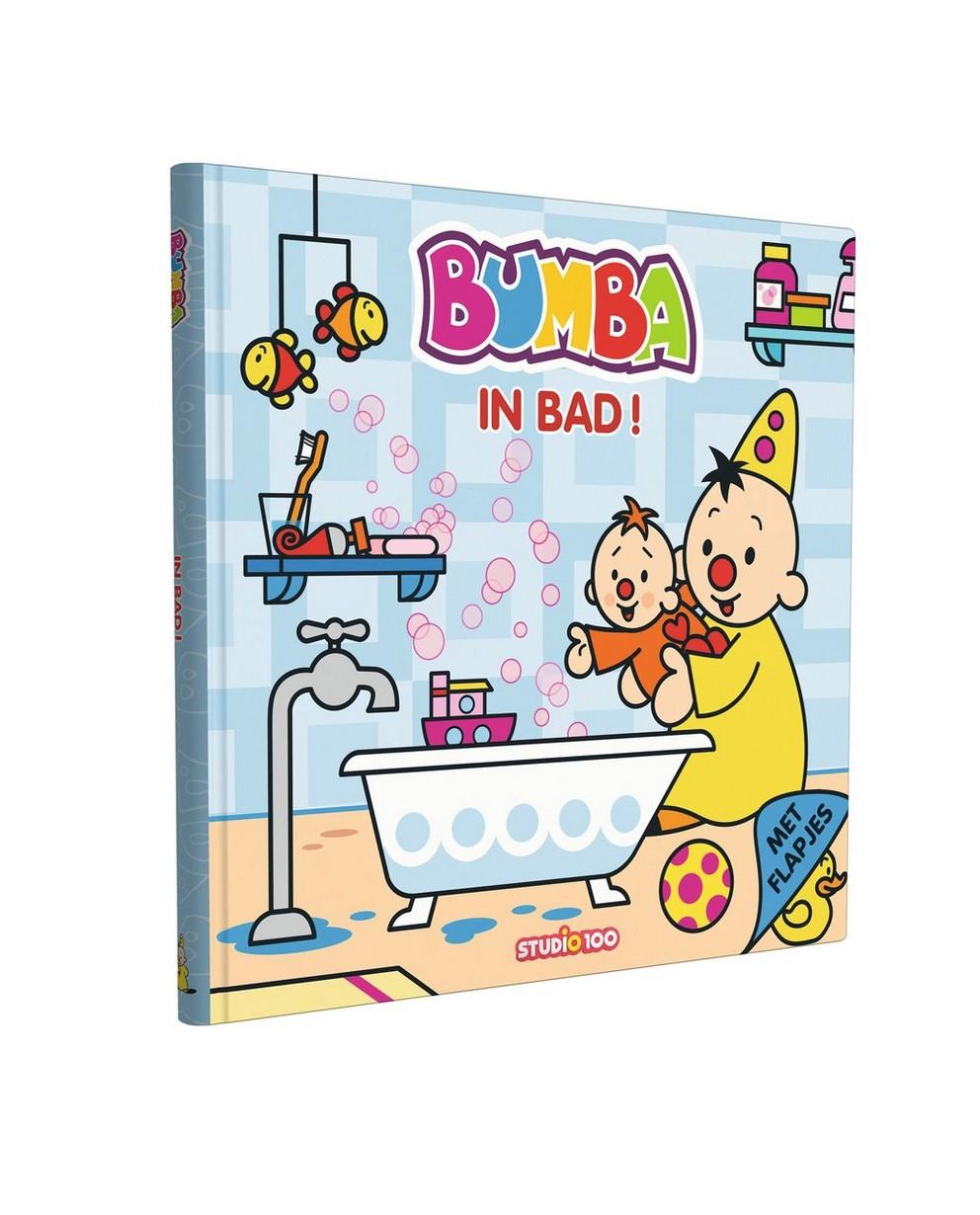 Bumba livre: Dans le bain - avec rabats - Bumba