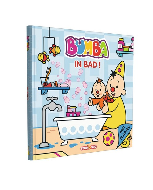 Bumba boekje: In bad - flapjes - Bumba