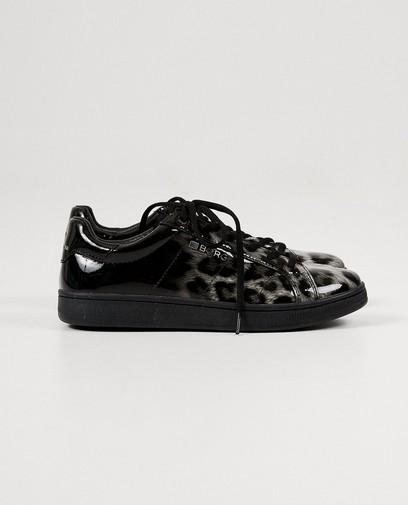 Lakleren print sneakers Björn Borg