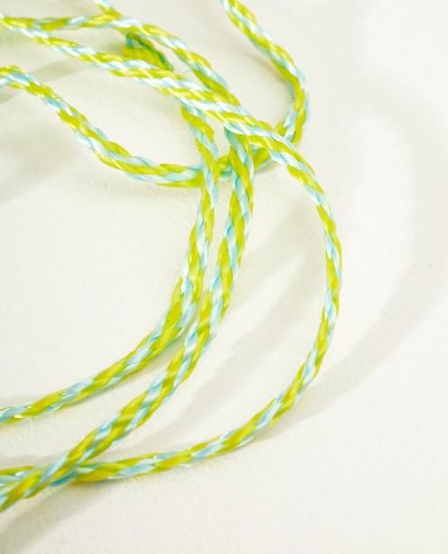 Gadgets - ASM - Blauw en geel vingertouw