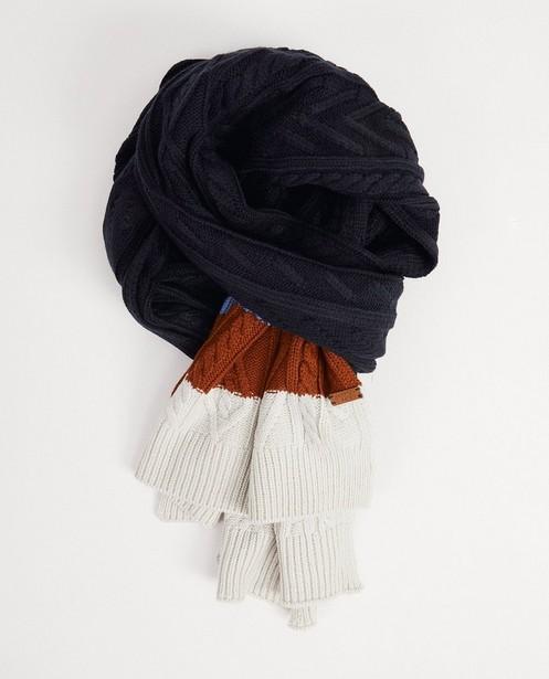 Sjaal met strepen Hampton Bays - in donkerblauw - Hampton Bays