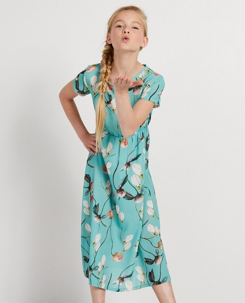 Robes - AO1 - Robe vert bleu Ella Italia
