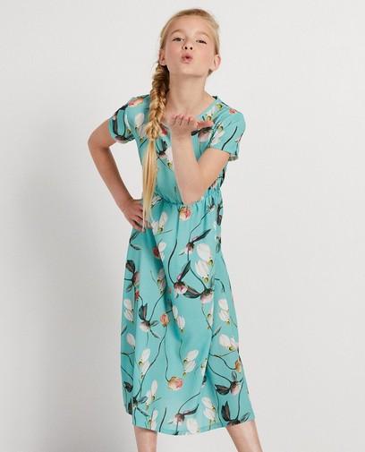Blauwgroene maxi-jurk Ella Italia