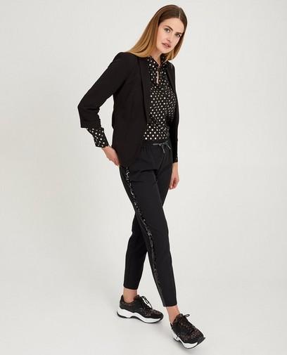 Pantalon noir à paillettes Sora